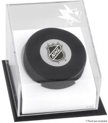 San Jose Sharks Puck Logo Display Case - Mounted Memories