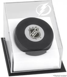 Tampa Bay Lightning Puck Logo Display Case