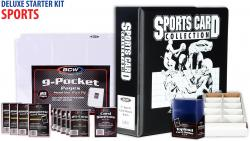 Deluxe Sports Starter Kit - Mounted Memories