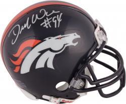 Demarcus Ware Denver Broncos Autographed Pro Line Mini Helmet