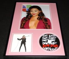 Demi Lovato 2008 Don't Forget Framed 12x18 CD & Photo Display