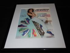 Demi Lovato Facsimile Signed Framed 2015 Skechers Advertising Display C