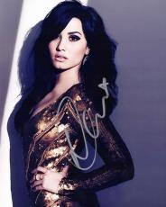 Demi Lovato Signed - Autographed Sexy Singer - Actress 8x10 inch Photo - Guaranteed to pass PSA or JSA
