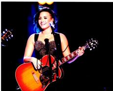 Demi Lovato Signed - Autographed Singer - Actress 8x10 inch Photo - Guaranteed to pass PSA/DNA or JSA