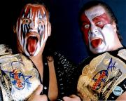 Demolition Ax & Smash WWF WWE WCW Autographed 8x10 Photo FSG Authen 2