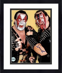Demolition Ax & Smash WWF WWE WCW Autographed 8x10 Photo FSG Authen 4