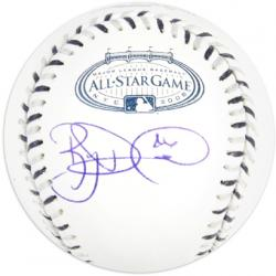 Ryan Dempster Autographed 2008 Yankees Stadium All Star Baseball