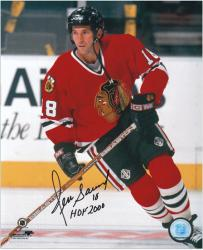 Chicago Blackhawks Denis Savard Autographed 8'' x 10'' Photo - Mounted Memories