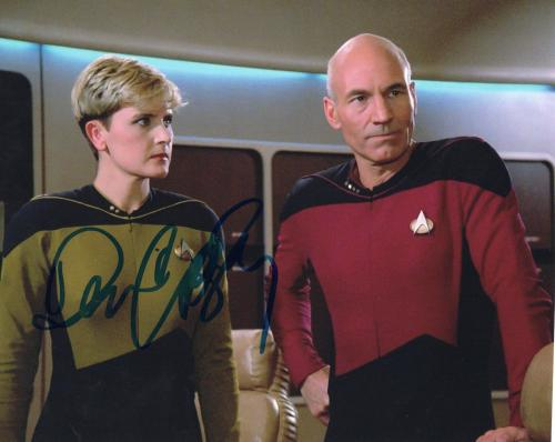Denise Crosby Signed 8x10 Photo w/COA Star Trek The Next Generation #3