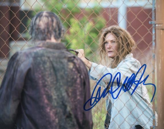 Denise Crosby Signed 8x10 Photo w/COA The Walking Dead Star Trek #1