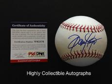 Dennis Haysbert Signed Baseball Autograph Major League Psa Dna Coa