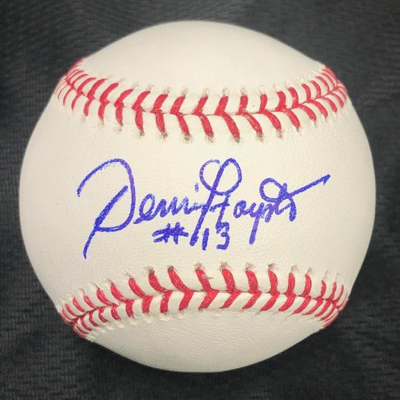 Dennis Haysbert Signed baseball PSA/DNA Pedro Cerrano Autographed