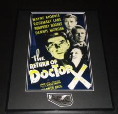 Autographed Dennis Morgan Photograph - Framed 16x20 Poster Display Return of Doctor X