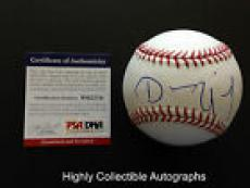 Dennis Quaid Signed Baseball Autograph The Rookie Psa Dna Coa
