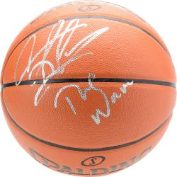 Chicago Bulls Dennis Rodman Autographed Basketball - Mounted Memories