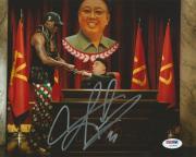 Signed Dennis Rodman Picture - 8x10 PSA DNA COA SNL TV North Korea Autograph