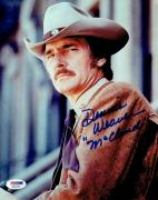 Dennis Weaver Signed McCloud Authentic Autographed 8x10 Photo PSA/DNA #X20095