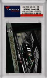 Denny Hamlin Nascar Autographed 2012 Press Pass Racing Champions #RC24 Card