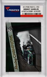 Denny Hamlin Nascar Autographed 2012 Press Pass Racing Champions #RC8 Card