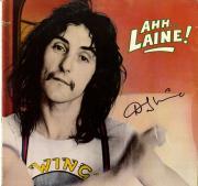 Denny Laine Double Signed Autographed Ahh Laine Album Cover UACC RD COA AFTAL