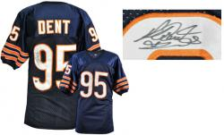 Richard Dent Chicago Bears Autographed Custom Throwback Navy Jersey - Mounted Memories
