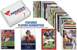 Denver Broncos Team Trading Card Block/50 Card Lot - Mounted Memories
