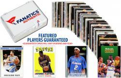 Denver Nuggets Team Trading Card Block/50 Card Lot