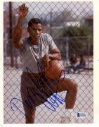 "Denzel Washington Autographed 8""x 10"" Holding Baksetball Photograph - Beckett COA"