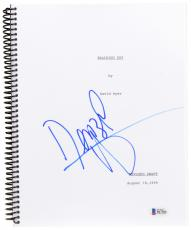 Denzel Washington Autographed Training Day Replica Movie Script - Beckett COA