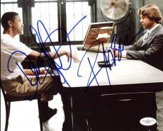 Denzel Washington & Russell Crowe American Gangster Signed 8X10 Photo JSA D78906