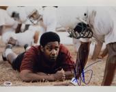 Denzel Washington Signed Remember The Titans 11x14 Photo PSA