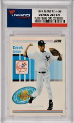 Derek Jeter New York Yankees 1993 Score Rookie #489 Card