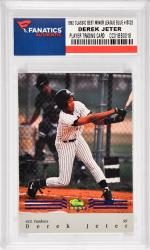 Derek Jeter New York Yankees 1994 Classic Best Minor League Blue  #BC22 Card