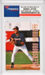 Derek Jeter New York Yankees 1994 Classic Games Minor League Gold #83 Card