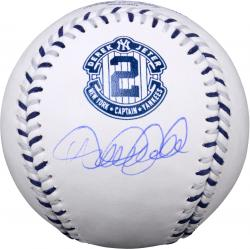 Derek Jeter New York Yankees Autographed Special Edition Retirement Baseball