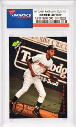 Derek Jeter New York Yankees1993 Classic Best Minor League Gold Edition Rookie #115 Card