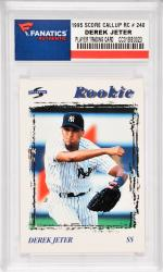 Derek Jeter New York Yankees1995 Score Call Up Rookie #240 Card