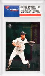 Derek Jeter New York Yankees1996 Donruss Gold Leaf Rookie #211 Card