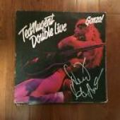 Derek St Holmes Signed Autographed Double Live Gonzo Record Album Ted Nugent