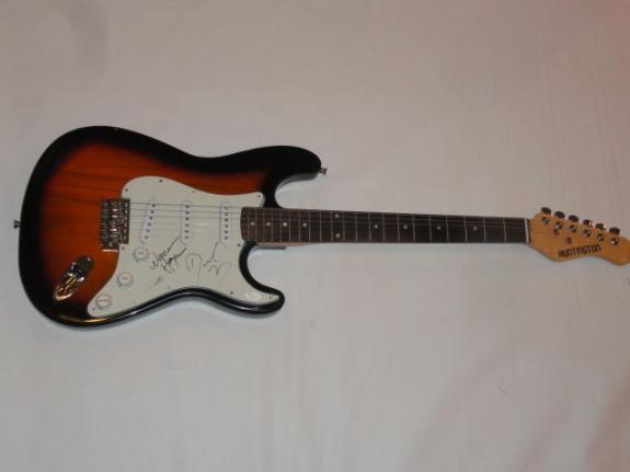 Derek Trucks Warren Haynes Signed Electric Guitar The Allman Brothers Jsa Coa