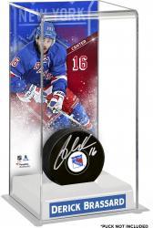 Derick Brassard New York Rangers Deluxe Tall Hockey Puck Case