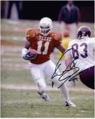 "Derrick Johnson Texas Longhorns Autographed 8"" x 10"" Photograph -"