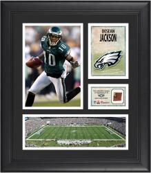 Desean Jackson Philadelphia Eagles Framed 15'' x 17'' Collage with Game-Used Football - Mounted Memories