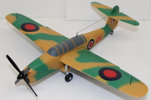 Desktop Model Airplane WWII Blackburn Barracuda RAF Wood Hand Crafted 23151