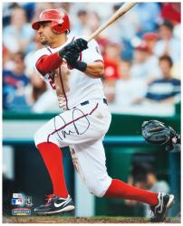Ian Desmond Signed Photograph - WHITE HITTING)( 16x20