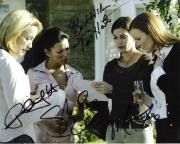 """DESPERATE HOUSEWIVES"""" 10x8 Color Photo Signed by TERI HATCHER, FELICITY HUFFMAN, MARCIA CROSS, and EVA LONGORIA"""