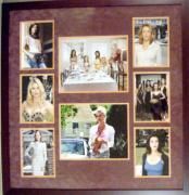 Desperate Houswives matted and framed with Nicolette Sheridan autograph 20x25