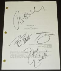 Despicable Me 2 Signed - Autographed Script - Guaranteed to pass PSA or JSA by Steve Carell, Kristen Wiig, Benjamin Bratt, and Russell Brand