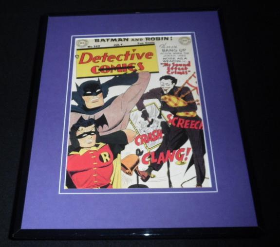 Detective Comics #149 Framed 11x14 Repro Cover Display Joker Batman Robin