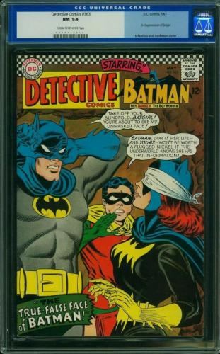 Detective Comics #363 Cgc 9.4 2nd App Of Batgirl Cgc  #0046443014